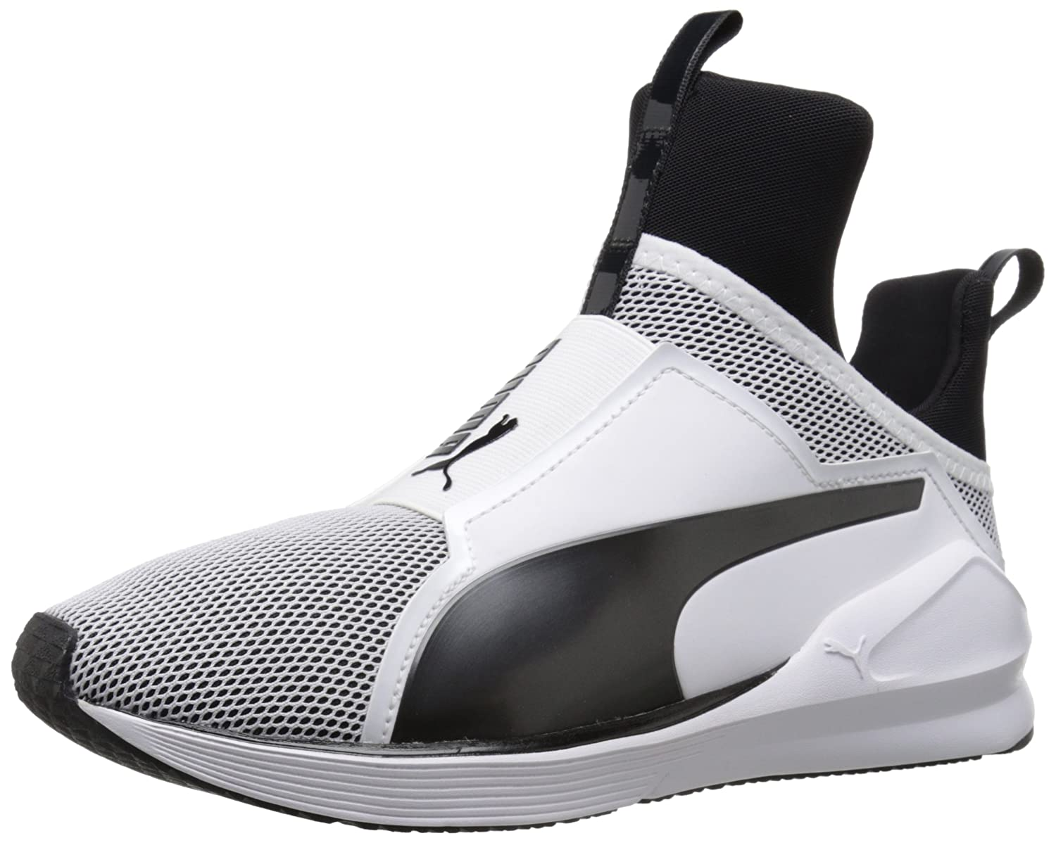 PUMA Women's Fierce Core Cross-Trainer Shoe B01BOUG3J6 6.5 B(M) US|Puma White/Puma Black