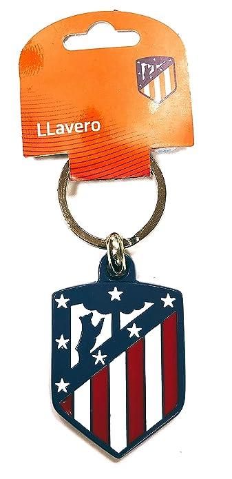 Gemelolandia Llavero Escudo Club Atlético de Madrid Color ...