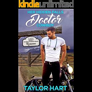 Her Hidden Falls Doctor Cowboy: A Sweet Brother's Romance (Hardman Brother Ranch Romances Book 2)