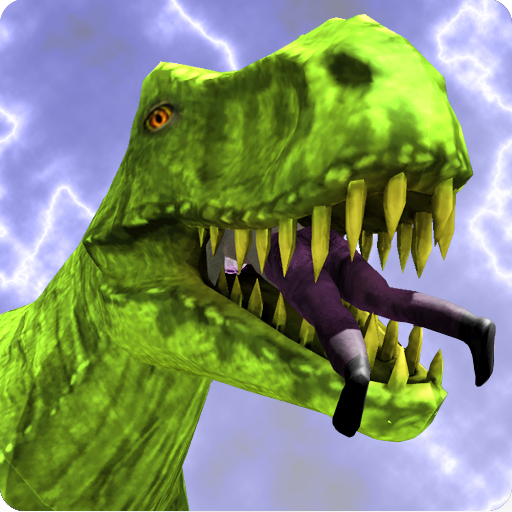 (Real Angry Dinosaur City Rampage Simulator - City Destruction & Dino Attack)