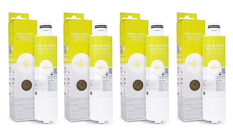 Seltino HAFCIN - Filtro de agua para Samsung nevera, relpacement ...