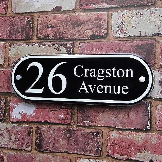 Personalizado casa dirección placa puerta placa de cartel ...