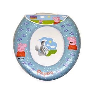 Siège de toilette Peppa Pig Childrens Soft apprentissage de la propreté