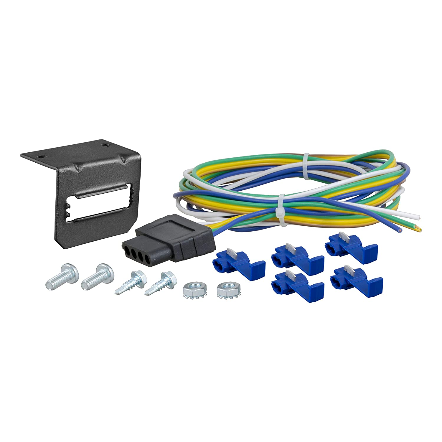 Amazon.com: CURT 58545 Vehicle-Side 5-Pin Trailer Wiring ... on