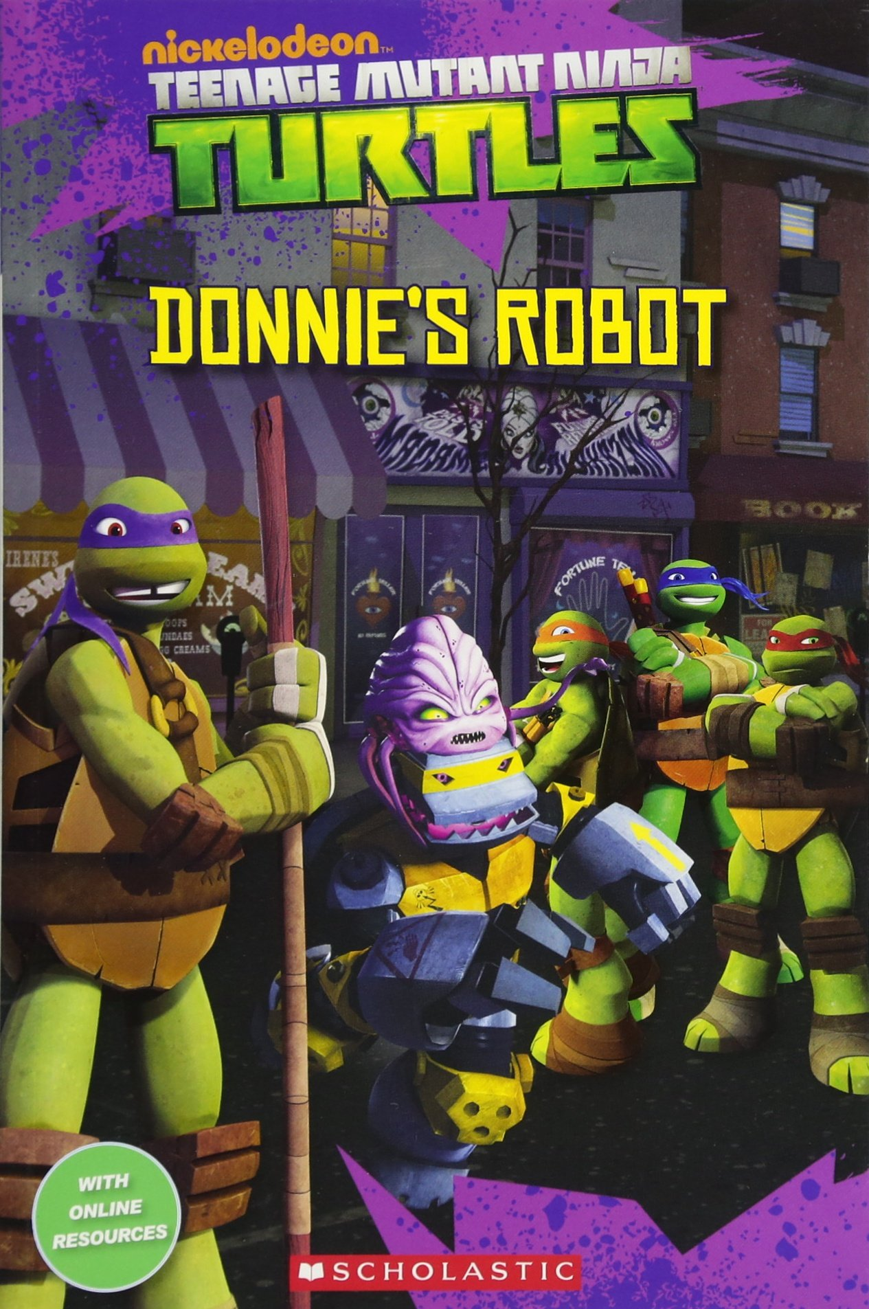 Teenage Mutant Ninja Turtles: Donnies Robot Popcorn Readers ...