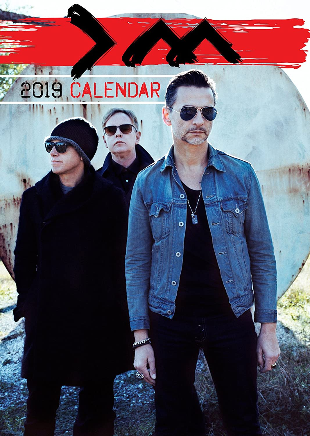 DEPECHE MODE CALENDAR 2019 LARGE (A3) POSTER SIZE WALL CALENDAR FACTORY SEALED BY OC (WITH A FREE XMAS GIFT FROM 1ST)