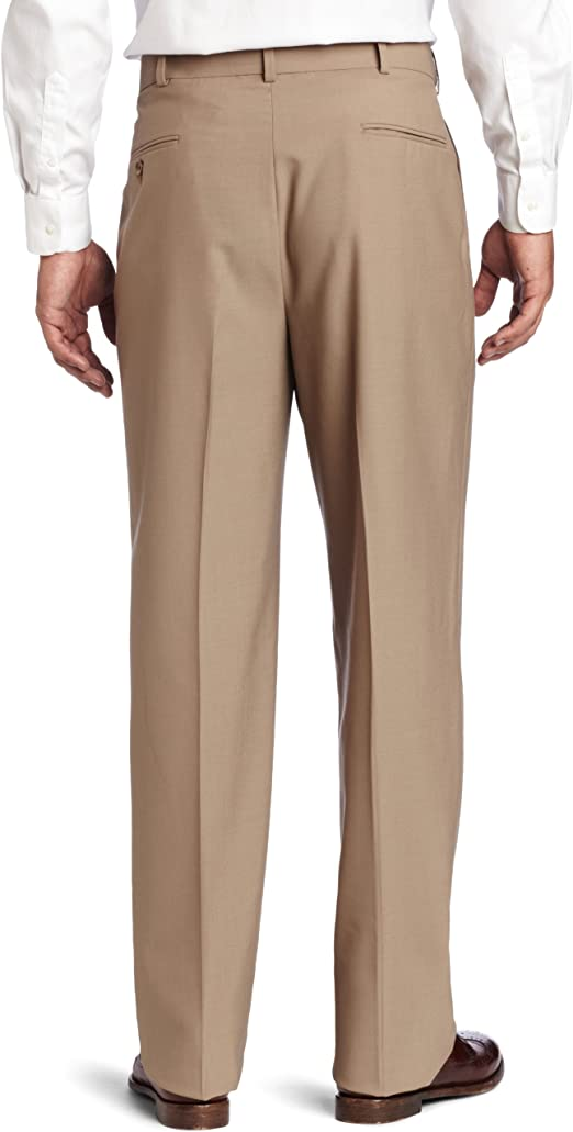 Austin Reed Men S Classic Dress Pant Tan 40 Regular At Amazon Men S Clothing Store Business Suit Pants Separates