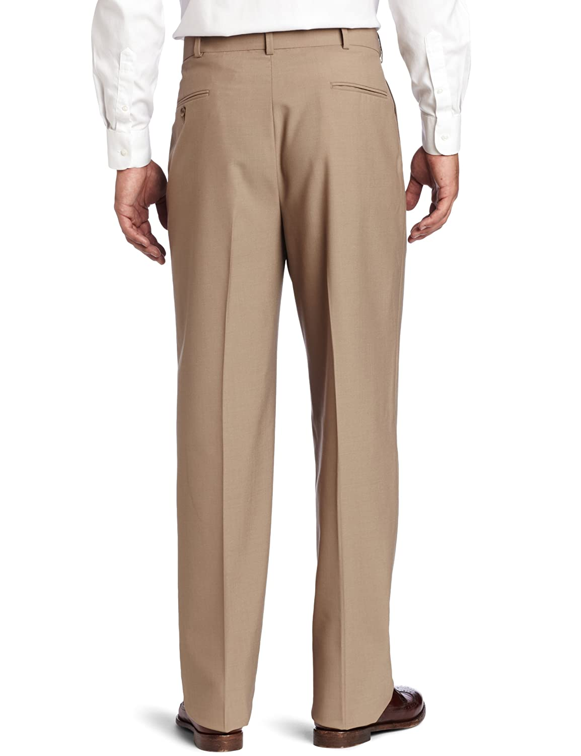 Austin Reed Mens Classic Dress Pant Tan 40 Regular Austin Reed Men S Tailored R63 270144 Ret Pants Clothing