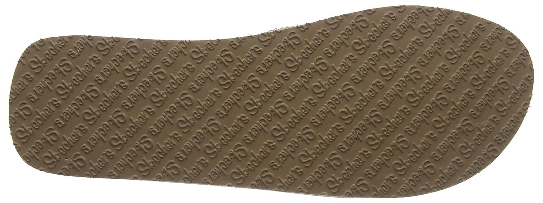 Skechers 31600 Pew Vinyasa Damen Sportive Pantolette mit Yoga-Foam-Innensohle, Groesse 38, Grau