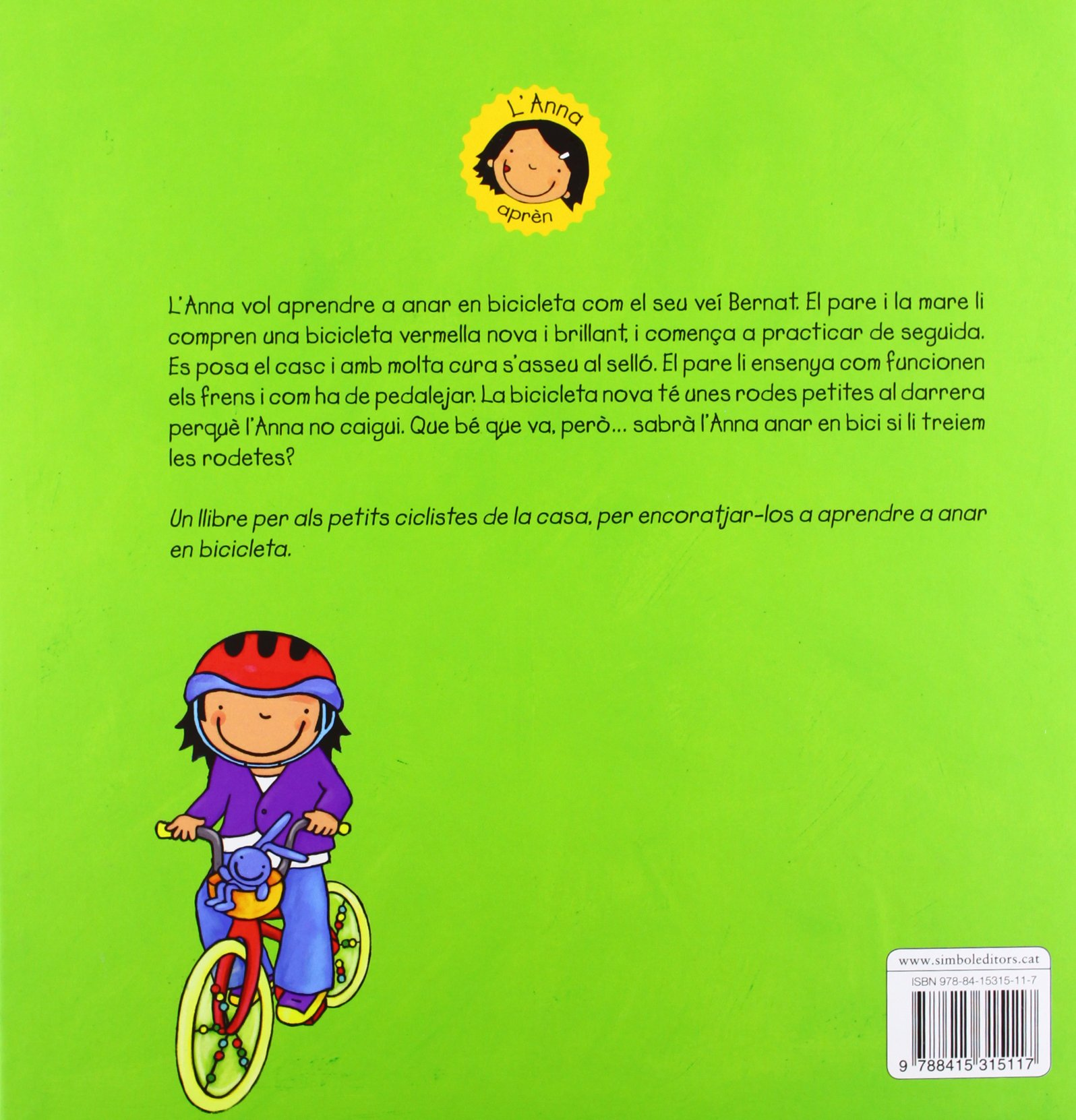 LAnna aprèn a anar en bicicleta (Simbolet): Amazon.es: Amant ...