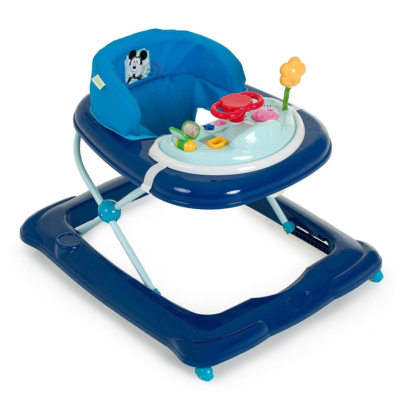 Walker ab 6 Monaten h/öhenverstellbar bunt Hauck Lauflernhilfe Player Gehfrei mit Spielcenter und Rollen Jungle Fun
