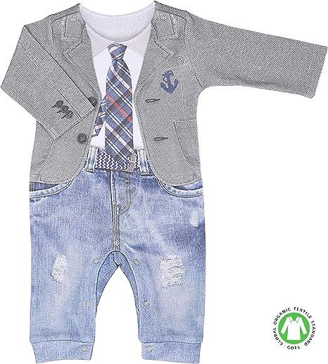 Sevira Kids – Pijama para bebé niño de algodón orgánico, LUCAS ...