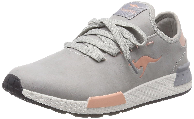 Kangaroos W-800, Zapatillas para Mujer 42 EU|Gris (Vapor Grey/English Rose 2043)