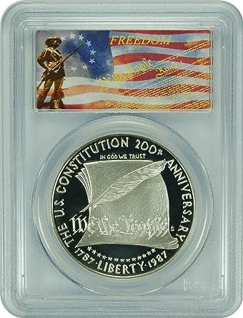 2010-P PCGS PR70DCAM Boys Scouts of America $1 Commemorative New PCGS Label