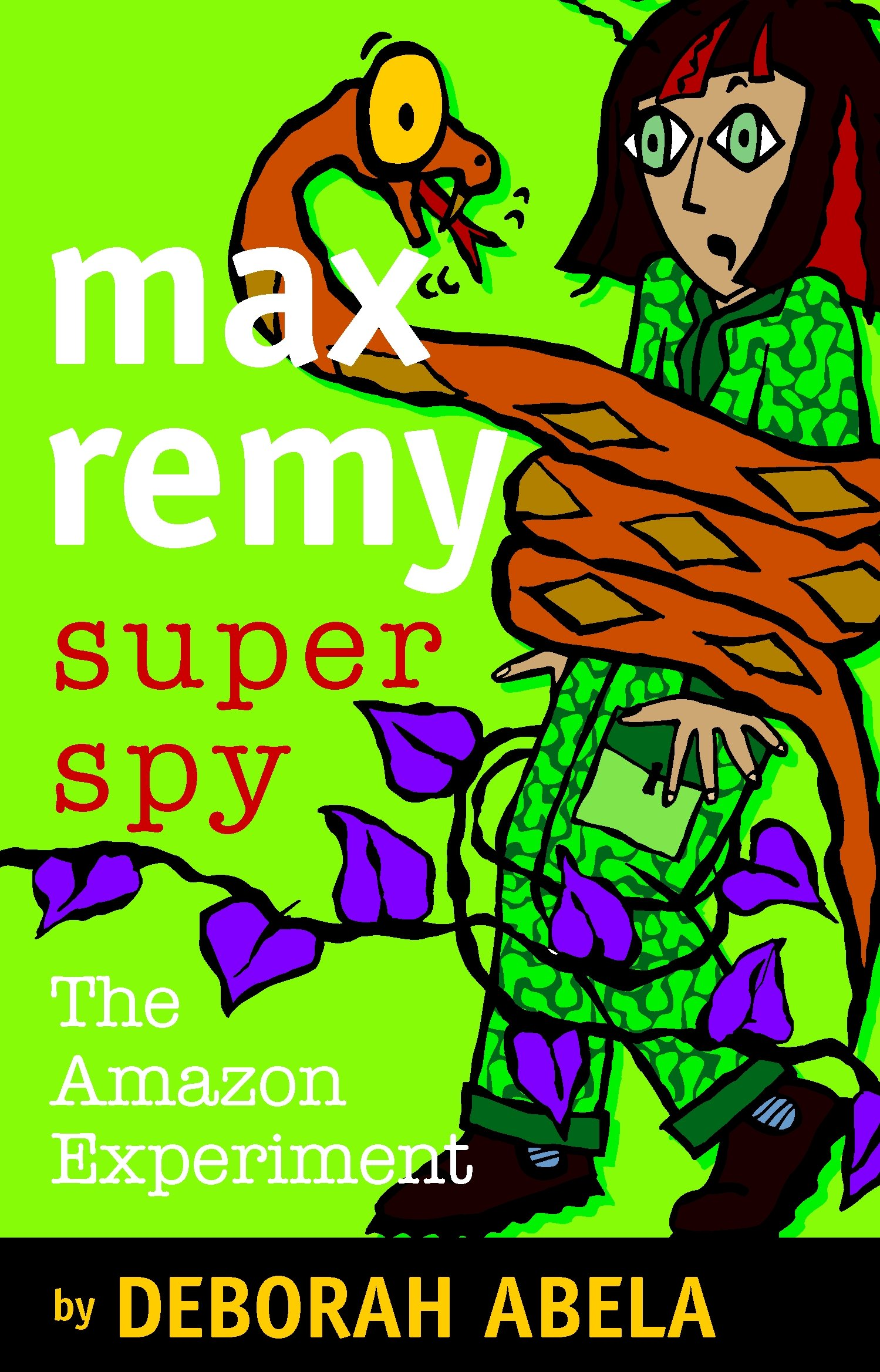 MAX REMY SUPERSPY #5: THE AMAZON EXPERIMENT PDF