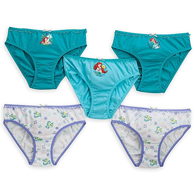 Disney Ariel – Set de Ropa Interior Pack de 5