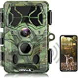 Campark 4K Native WiFi Trail Camera-30MP Bluetooth Hunting Game Camera with Night Vision Motion Activated Waterproof IP66 for