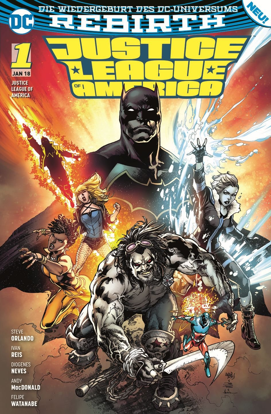 Justice League of America: Bd. 1: Die Extremists
