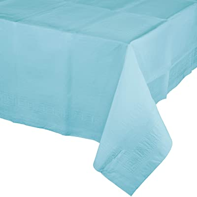 Pastel Blue Paper Tablecloths, 3 ct: Toys & Games