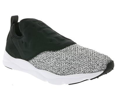 dd022fada62628 Reebok Furylite Slip-On Lux Trainers Multi 7 UK  Amazon.co.uk  Shoes ...