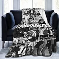 N \ A 1D-One Direction - Manta de microfibra para cama (152,2 x 127,2 cm)