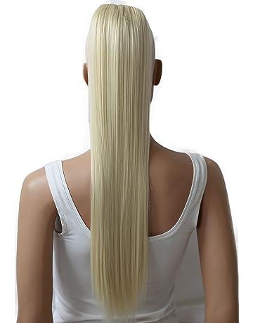 PRETTYSHOP Voluminosa liso peluca peluca trenza cola de caballo Cola de caballo fibra sintética 70cm refractario