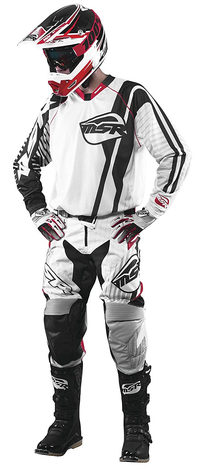Gender: Mens//Unisex Size: 34 Primary Color: White MSR M16 NXT Air Pants Distinct Name: White//Gray//Black//Red
