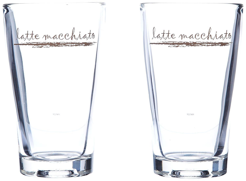 wmf 0954142040 latte macchiato glas set 2 st ck barista ebay. Black Bedroom Furniture Sets. Home Design Ideas