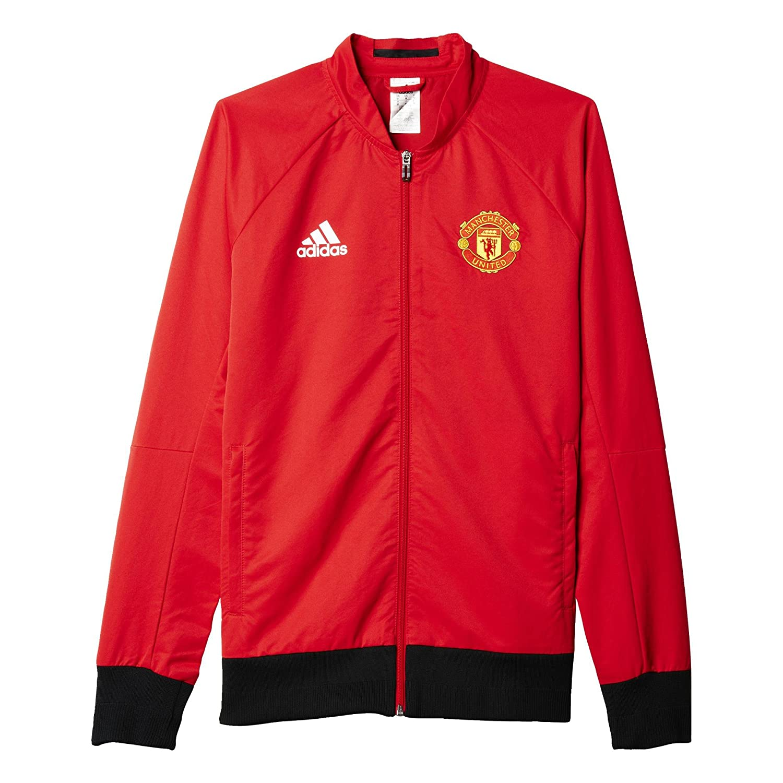 Adidas Herren Fuβballjacke MUFC Anth Jacket W