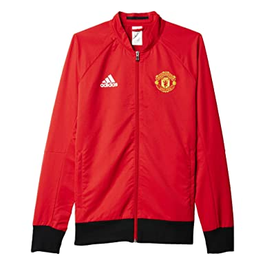 Men's Adidas Manchester United FC Anthem Soccer Jacket Red AI5401 at Amazon  Men's Clothing store: