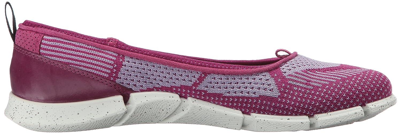ECCO Women's Intrinsic Karma Flat EU/8-8.5 Sporty Lifestyle B015KO02R6 39 EU/8-8.5 Flat M US|Fuchsia/Light Purple f49689