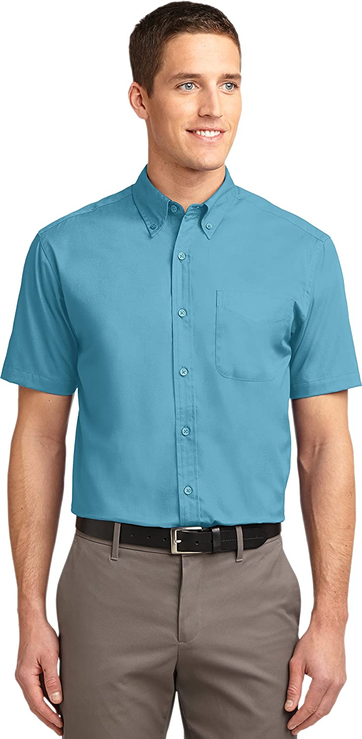 Port Authority Short Sleeve Easy Care Shirt Maui Blue // Maui Blue -... S508