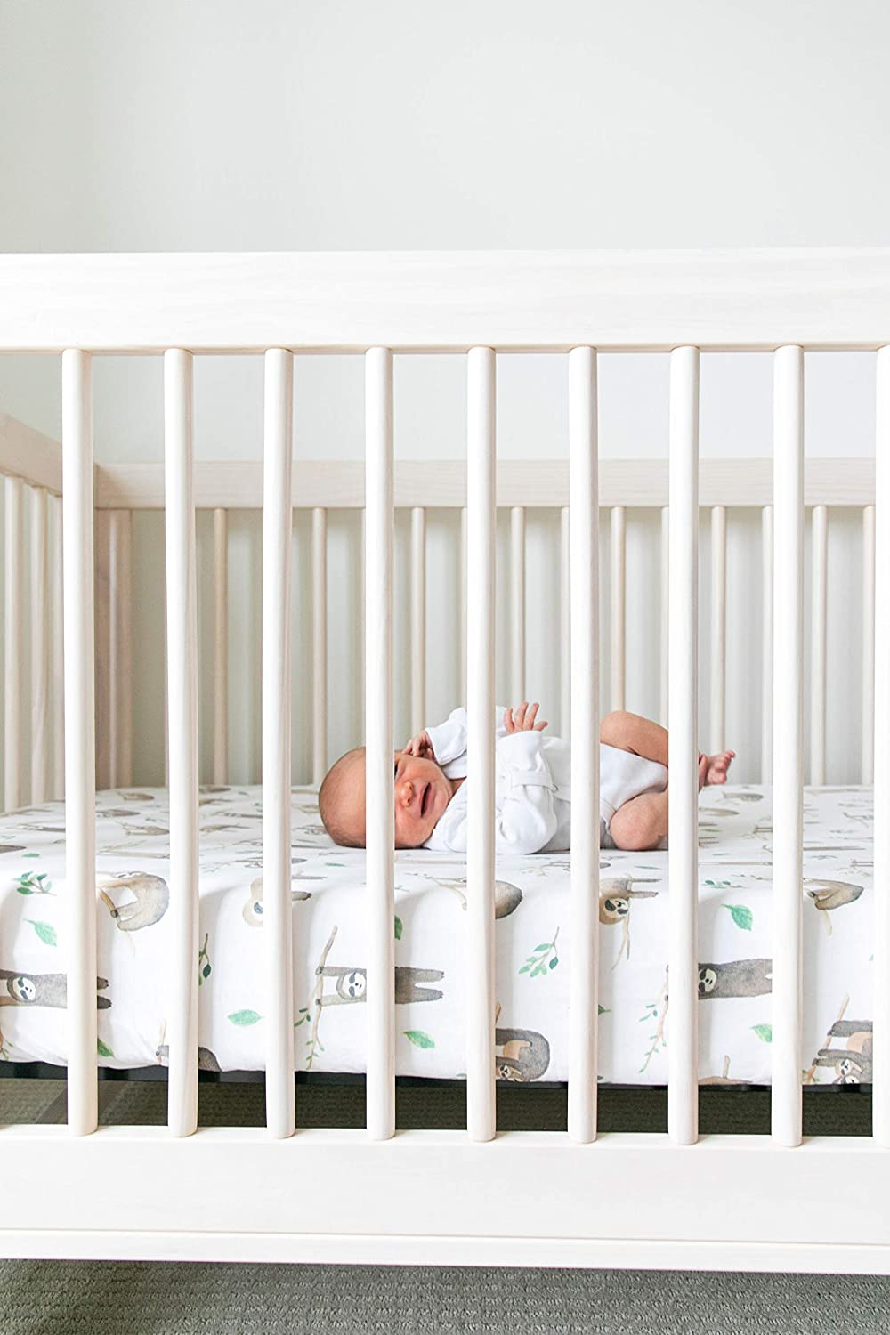 Premium Fitted Knit Crib Sheet//Toddler SheetBison by Copper Pearl