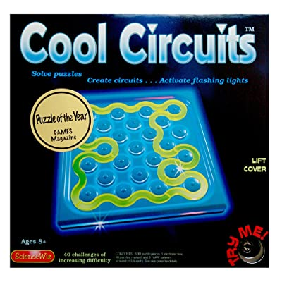 Science Wiz - Cool Circuits Puzzle Game: Toys & Games
