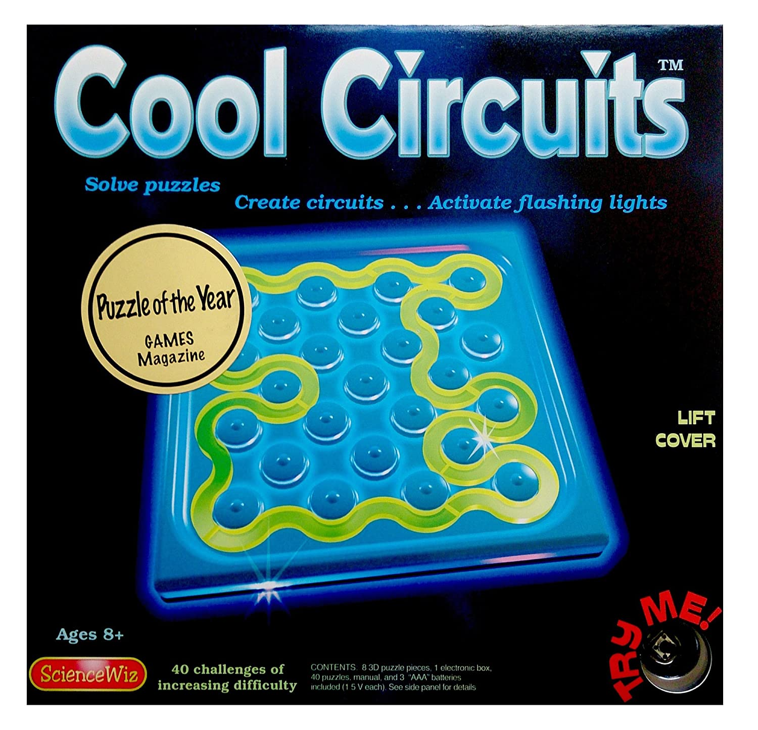 Amazon.com: ScienceWiz - Cool Circuits Puzzle Game: Toys & Games