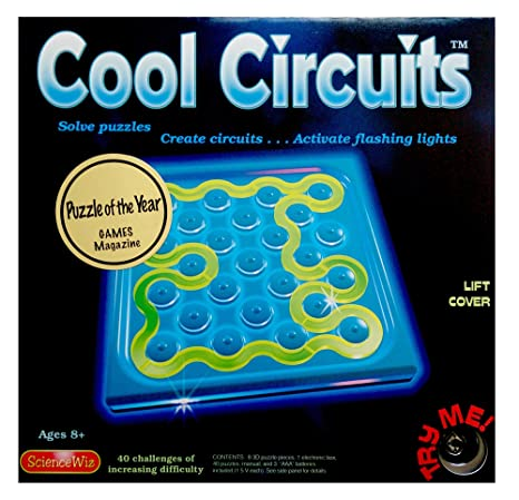 Amazon Com Science Wiz Cool Circuits Puzzle Game Toys Games