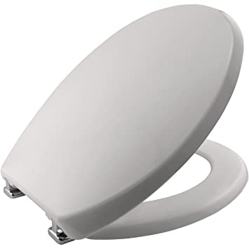 Swell Bemis Buxton Stay Tight Toilet Seat Whisper Grey Gmtry Best Dining Table And Chair Ideas Images Gmtryco
