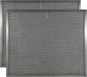 """Replacement Range Hood Filter Compatible with Broan Model BPS1FA30 (2-Pack) - 11-3/4"""" X 14-1/4"""" X 3/8"""""""