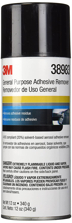3M General Purpose Adhesive Remover, 38983, 12 oz Net Wt