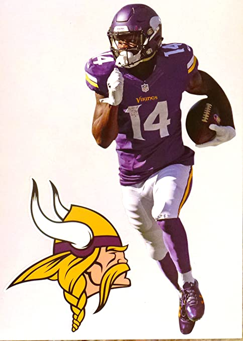 96989775 Amazon.com: FATHEAD Stefon Diggs Mini Minnesota Vikings Logo ...