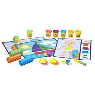 Hasbro Play-doh Shape And Learn Textures e Strumenti