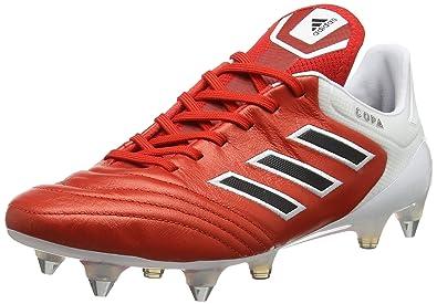separation shoes 9cfd9 0d40e adidas Copa 17.1 SG, Chaussures de Football Homme, Rouge (Redc Black