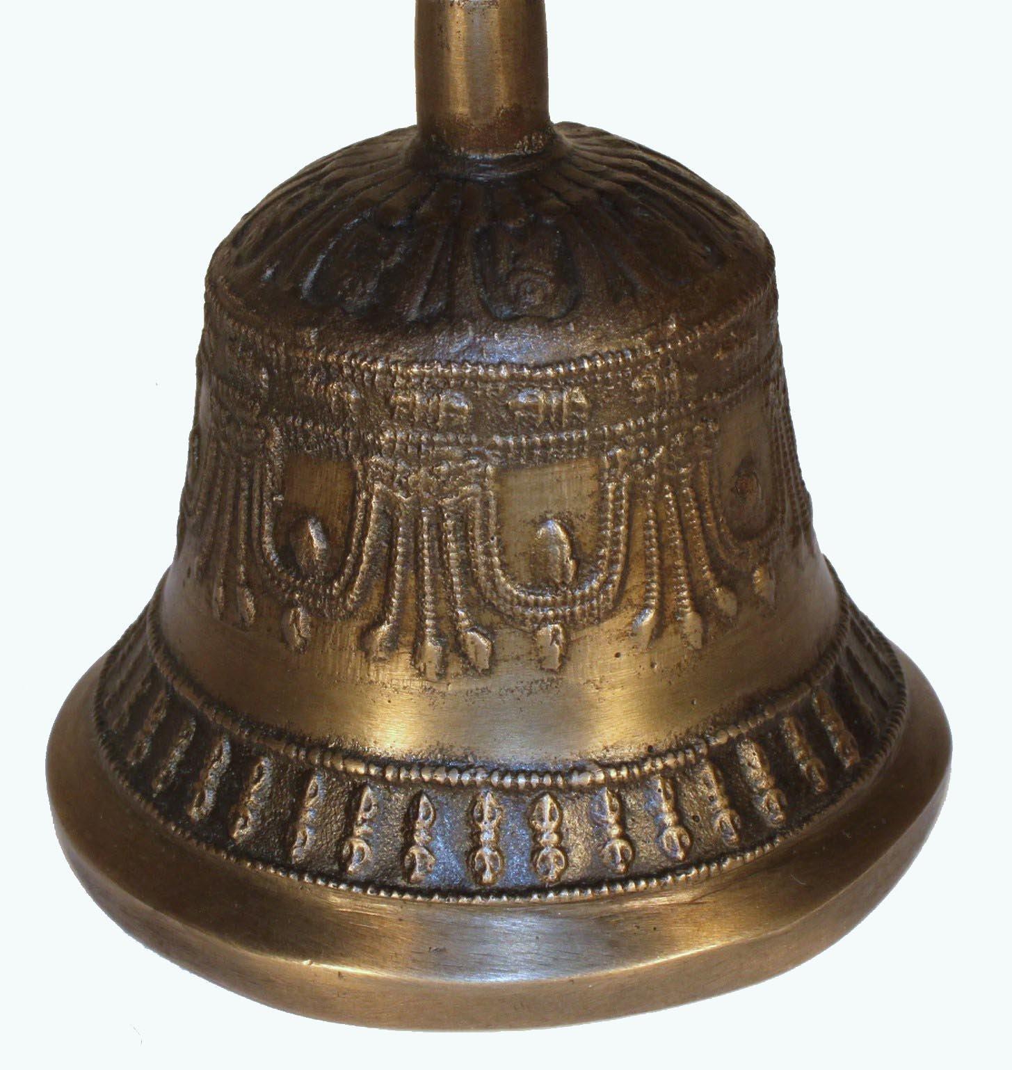 Antique Bell / Tibetan Meditation Bell / Tibetan / Multi-Layered Harmonics / Meditation Tool by Tibetan (Image #3)