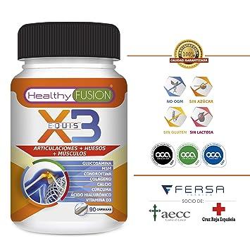 Potente Cúrcuma Orgánica + Colágeno + Condroitina + Glucosamina – Elimina dolores en Músculos, Articulaciones