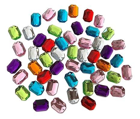 4d205d44313a octogonal 25 mm grandes multicolor reluciente piedras para coser brillantes  piedras para coser (redondas acrílico