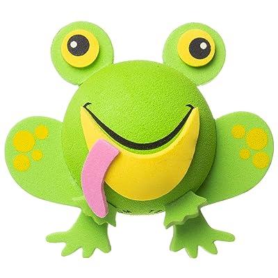 Tenna Tops Frog Car Antenna Topper / Mirror Dangler / Desktop Spring Stand Bobble (Green): Automotive