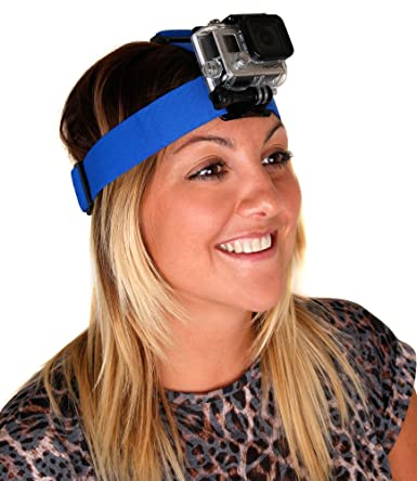 Surf Hero Adjustable Head Strap Mount for GoPro HD Naked Hero