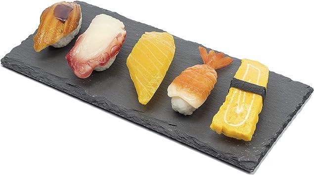 Tempura Plate size 340 x 112 x 30mm White glaze sinking sinking rock skin long dish Japanese dish plates traditional oriental asian Rectangle plate for grilled fish Sushi Sashimi