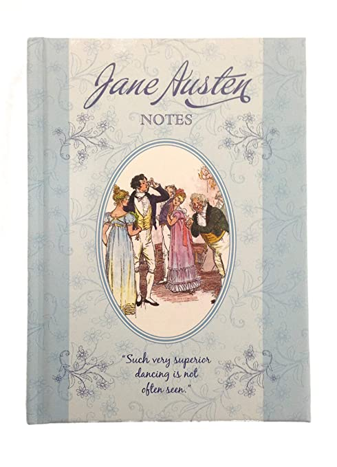 Amazon.com: A6 Jane Austen Notebook Lined Dancing Notes ...
