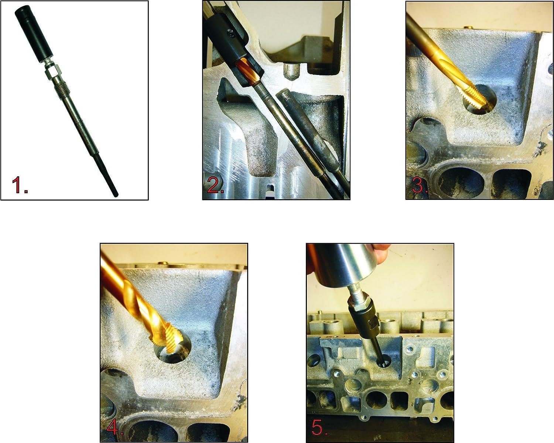 M/üller-Werkzeug 600 240 Universal Ausbohrsatz f/ür Gl/ühstifte